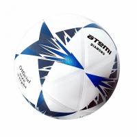 Мяч для футбола ATEMI DIAMOND PVC 00-00005681 White/Blue