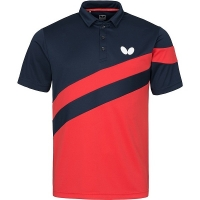 Поло Butterfly Polo M Kisa Black/Red