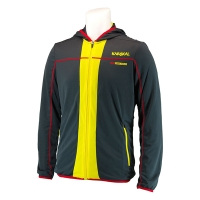 Ветровка Karakal Jacket U Pro Tour KC5404 Dark Gray/Yellow
