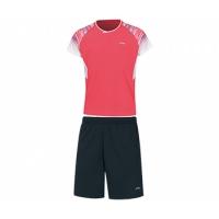 Комплект Li-Ning Kit JB T-shirt+Shorts AATP028-3 Pink/Black