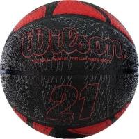 Мяч для баскетбола Wilson 21 Series Black/Red WTB2103XB07