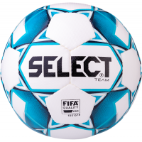 Мяч для футбола SELECT Team FIFA White/Blue 815411-020