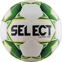 Мяч для футбола SELECT ULTRA DB White/Green 810218-004