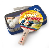 Набор для настольного тенниса ATEMI Hobby SM (2r, 3b, 1c)