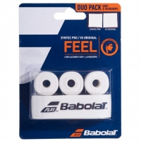 Обмотка для ручки Babolat Grip Syntec Pro x1 + Overgrip VS Original x3 White 670068-101