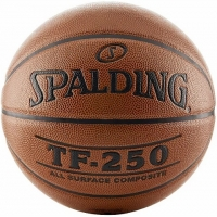 Мяч для баскетбола Spalding TF-250 All Surface Brown 74-53