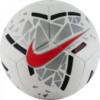 Мяч для футбола Nike Pitch Silver/Red SC3807-103
