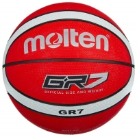 Мяч для баскетбола Molten BGR7-RW Red/White