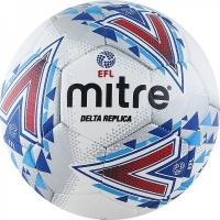 Мяч для футбола MITRE Delta Replica White/Blue BB1981WHL