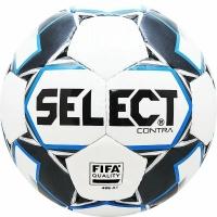 Мяч для футбола SELECT Contra FIFA Black/Blue 812317-102