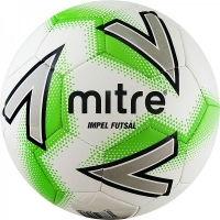 Мяч для минифутбола MITRE Futsal Impel Gray/Green A0029WC5