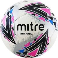 Мяч для минифутбола MITRE Futsal Delta FIFA PRO HP Black/Pink A0028WWB
