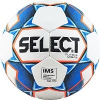 Мяч для минифутбола SELECT Futsal Mimas IMS White/Blue 852608-003