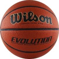 Мяч для баскетбола Wilson Evolution Brown WTB0516