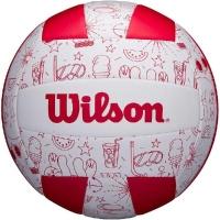 Мяч для пляжного волейбола Wilson Seasonal Vball Summer VB White/Red WTH10320XB