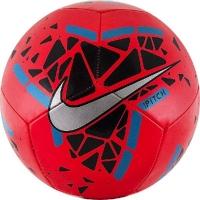 Мяч для футбола Nike Pitch Silver/Red SC3807-644