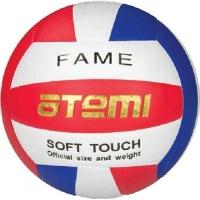 Мяч для волейбола ATEMI Fame PU Soft White/Red/Blue