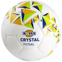 Мяч для минифутбола Novus CRYSTAL FUTSAL Orange/Green