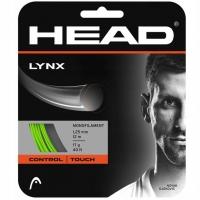 Струна для тенниса Head 12m LYNX Green 281784