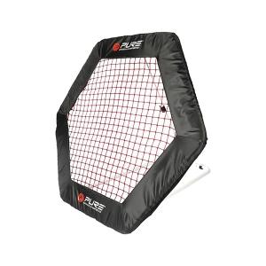 Футбольный тренажер стенка Rebounder Hexagon 140x125cm PURE2IMPROVE P2I150130