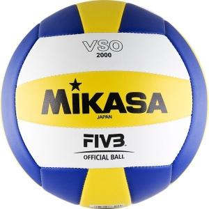 Мяч для волейбола Mikasa VSO2000 Yellow/Blue