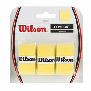 Обмотка для ручки Wilson Overgrip Pro x3 Yellow WRZ4014YE