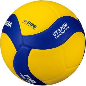 Мяч для волейбола утяжеленный VT370W Yellow/Blue Mikasa