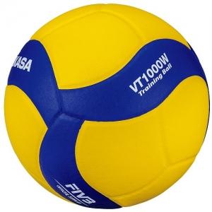 Мяч для волейбола утяжеленный VT1000W Yellow/Blue Mikasa