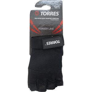 Перчатки для занятий спортом Black PL6051 TORRES