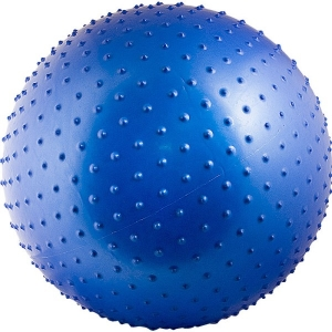 Мяч гимнастический 65cm Массажный Blue AL100265 TORRES