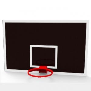 Баскетбольный щит Игровой 1800x1050mm ламинированная фанера 18mm IMP-A516