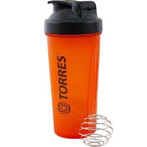 Фляга TORRES Sports Shaker Orange S01-600-02