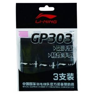 Обмотка для ручки Li-Ning Overgrip GP303 x3 Black AXJN002-1