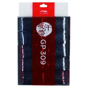 Обмотка для ручки Li-Ning Overgrip GP309 x5 Black AXJQ002-2