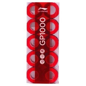 Обмотка для ручки Li-Ning Overgrip GP1000 х10 Red AXSF002-8