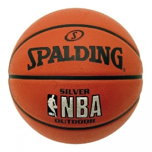 Мяч для баскетбола Spalding NBA Silver Orange 83-01