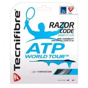 Струна для тенниса Tecnifibre 12m Razor Code White 04GRA