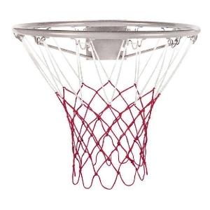 Сетка баскетбольная ATEMI 3.5mm White/Red T4011N2
