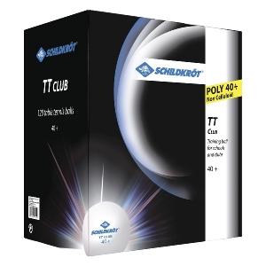 Мячи Donic TT-Club 40+ Plastic x120 White 608532