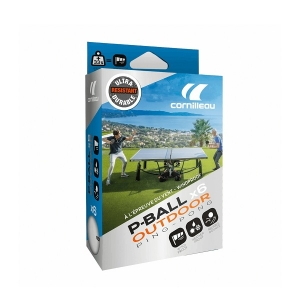Мячи Cornilleau P-Ball Outdoor 40+ Plastic x6 White 350800