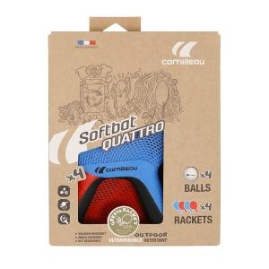 Набор для настольного тенниса Cornilleau Softbat Pack Quatro 2020 (4r, 4b) 454755