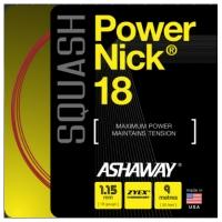 Струна для сквоша Ashaway 9m PowerNick A10863 Red