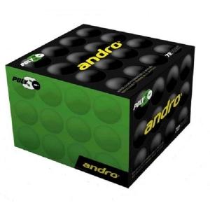Мячи ANDRO 1* Poly-S 40+ Plastic x72 Orange