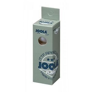 Мячи Joola 3* SL Flash 40+ Plastic x3 White