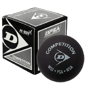 Мячи для сквоша Dunlop 1-Yellow Competition x1