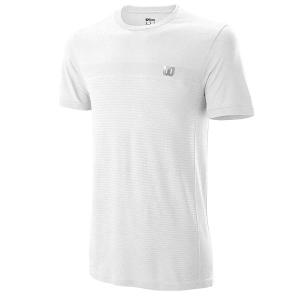 Футболка Wilson T-shirt M Competition Seamless Crew White WRA773511