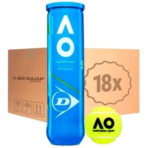 Мячи для тенниса Dunlop Australian Open 4b Box x72