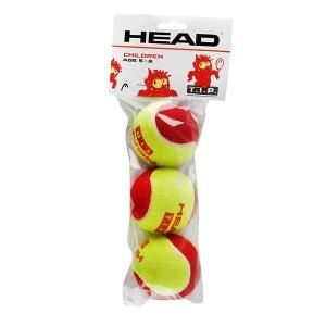 Мячи для тенниса Head Red Felt Tip 3b 578113