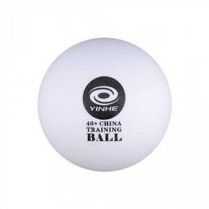 Мячи Yinhe Training 40+ Plastic ABS+ Polybag x100 White 9090B