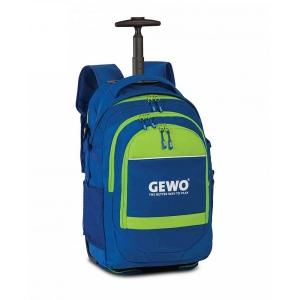 Сумка дорожная на колесах Gewo Speed Trolley Backpack Blue/Green